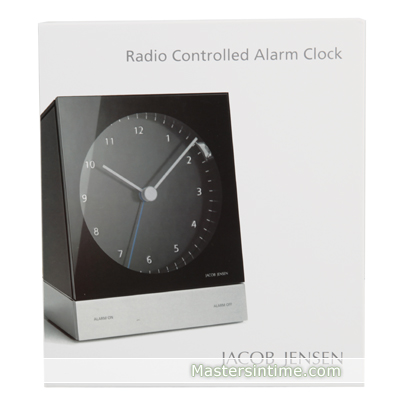 Clock black Quartz