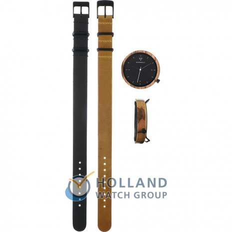 Kerbholz watch black