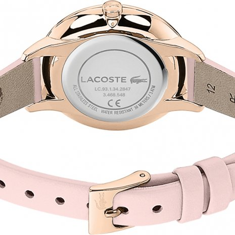 Lacoste montre Or Rose