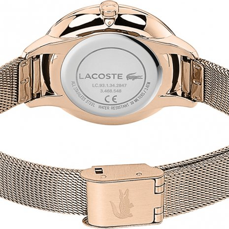 Lacoste watch Rose Gold