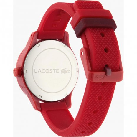 Lacoste watch red