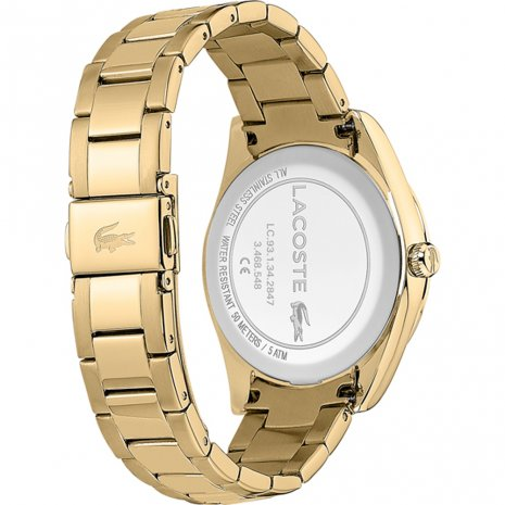 Lacoste watch Gold