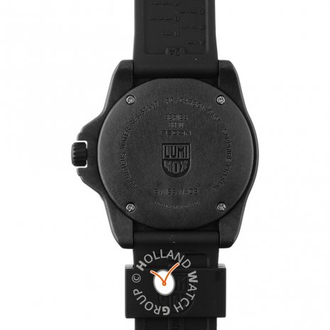 Black carbon outdoor watch with compass loop Spring Summer Collection Luminox