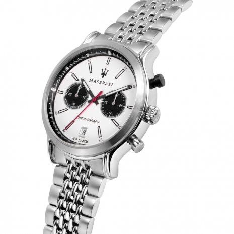 Steel Chronograph with Date Spring Summer Collection Maserati
