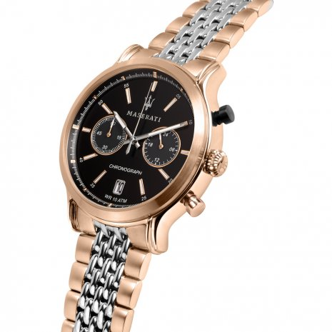 TwoTone Rose Chronograph with Date Spring Summer Collection Maserati