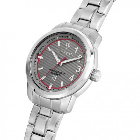 Steel Gents Watch with Date Spring Summer Collection Maserati
