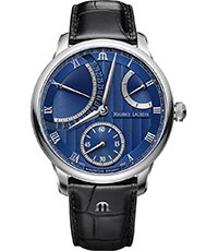 MP6568-SS001-430-1 Masterpiece Calendar Retrograde 43mm