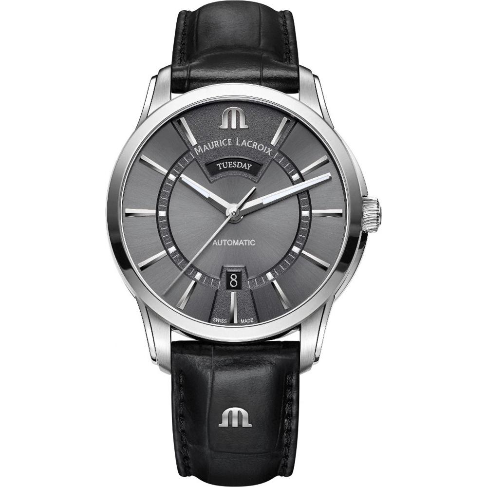 Maurice Lacroix Pt6358 Ss001 332 1 Watch Pontos Tissot Couturier Chronograph T0356271605100