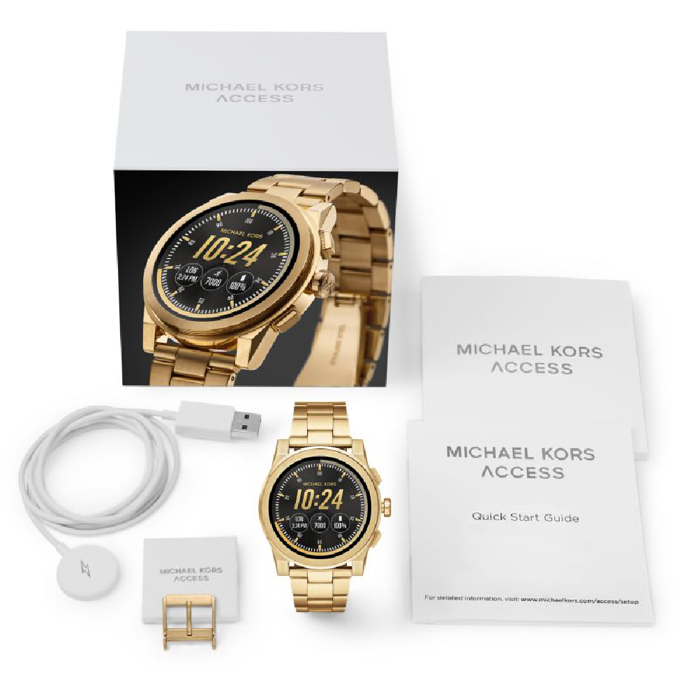 e710523d5ed6 Gold Smartwatch with Touchscreen Fall Winter Collection Michael Kors