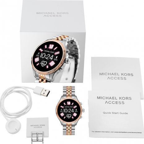 Touchscreen Smartwatch with Steel Bracelet - Gen 5 秋冬 コレクション Michael Kors