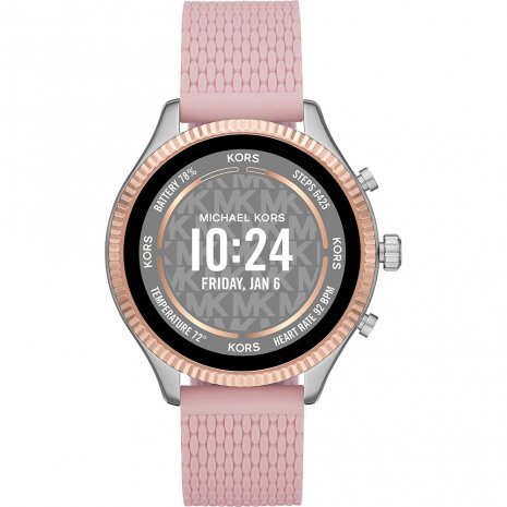 Gen 5 touchscreen smartwatch with silicone strap Spring Summer Collection Michael Kors