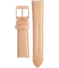 MK2283 Mercer Mid Beige Leather Strap
