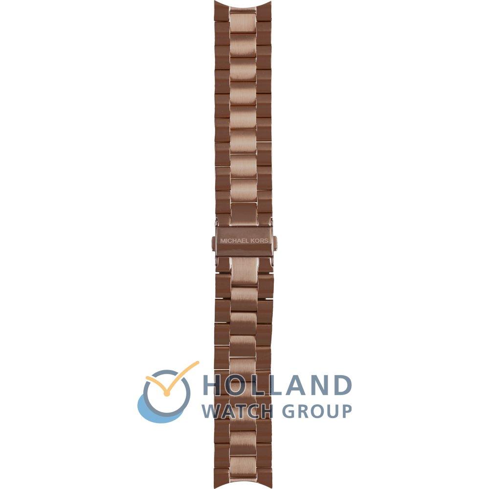 beb5e195e707 Michael Kors AMK3418 Strap - MK3418 Runway Slim ll