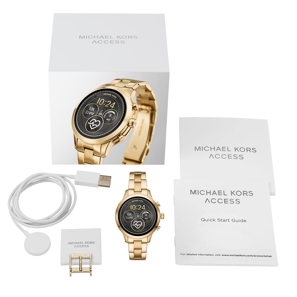 2640b1f81693 Touchscreen Smartwatch with Steel Bracelet - Gen4 Fall Winter Collection Michael  Kors