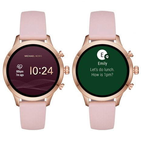 watch Rose Gold Smart Digital
