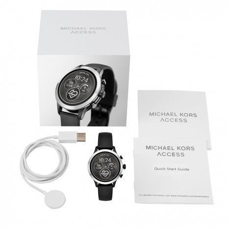 Touchscreen Smartwatch with Silicone Strap - Gen4 Fall Winter Collection Michael Kors