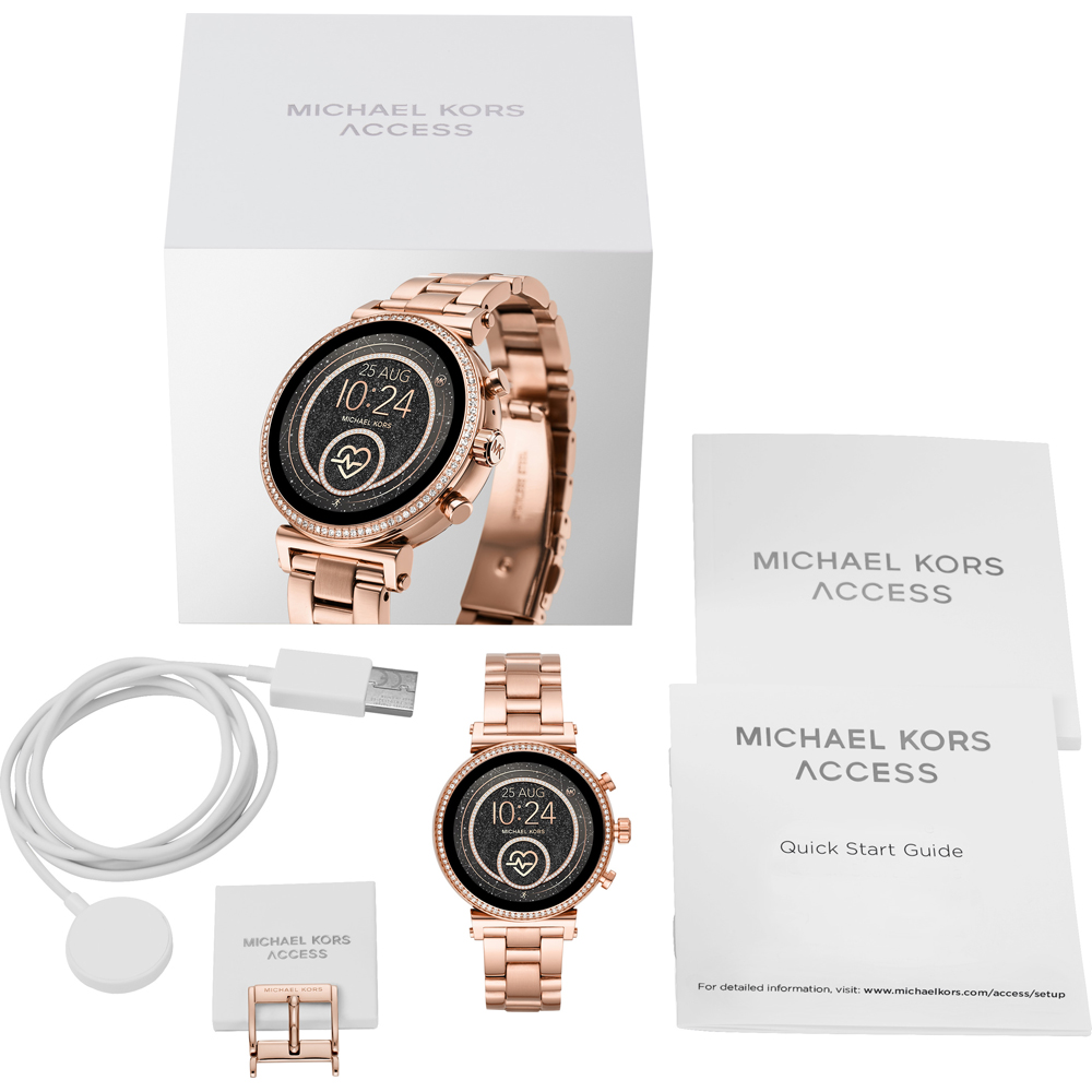 Michael Kors Mkt5063 Access Smartwatch Watch Sofie