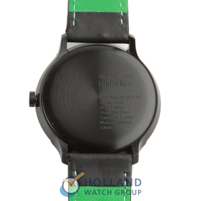 Mondaine watch black