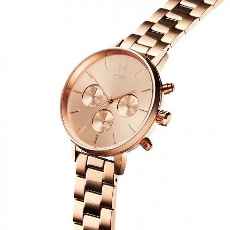 MVMT watch Rose Gold
