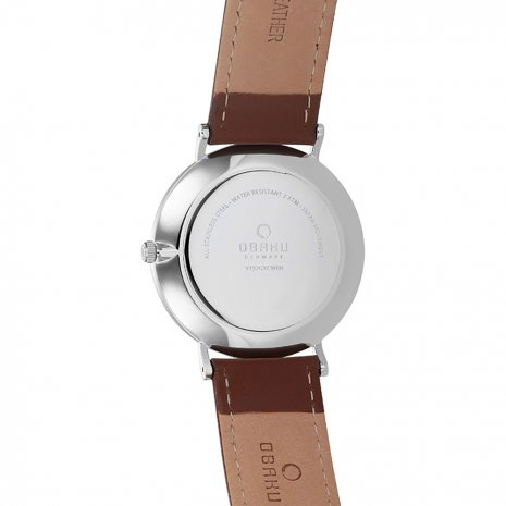 Obaku watch silver