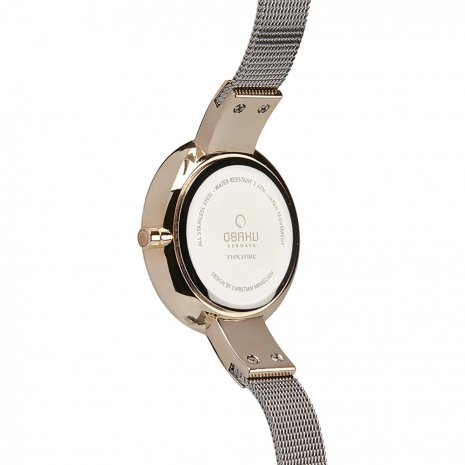 Obaku watch Bicolor Rose
