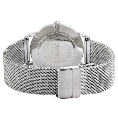 Olympic watch silver