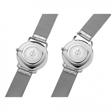 Silver Ladies Watch with Marble Dial Fall Winter Collection Paul Hewitt