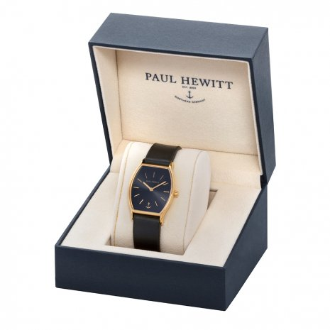 Tonneau Ladies Quartz Watch on Leather Strap Fall Winter Collection Paul Hewitt