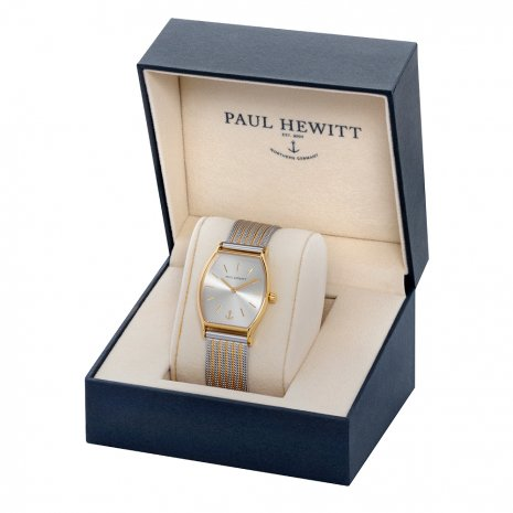 Tonneau Ladies Quartz Watch with Mesh Bracelet Fall Winter Collection Paul Hewitt