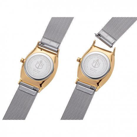 Paul Hewitt watch bicolor