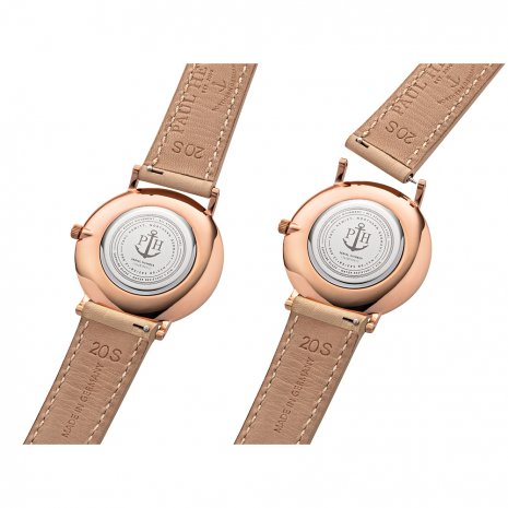 Ladies Quartz Watch on Leather Strap Spring Summer Collection Paul Hewitt