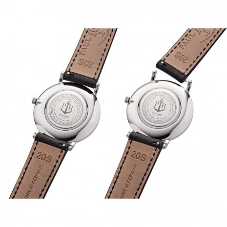 Gents Quartz Watch on Leather Strap Spring Summer Collection Paul Hewitt