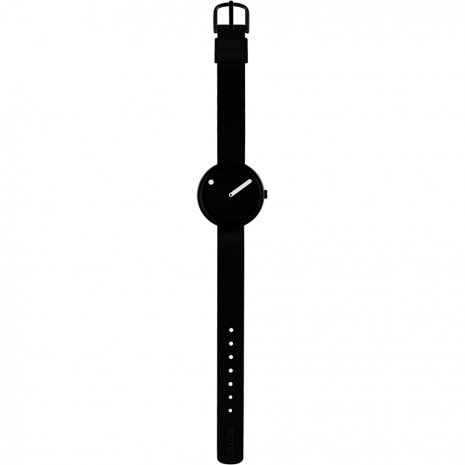 Black Design Watch Small Size Fall Winter Collection Picto