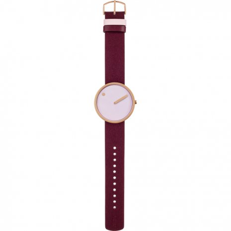 Rose gold design watch Fall Winter Collection Picto