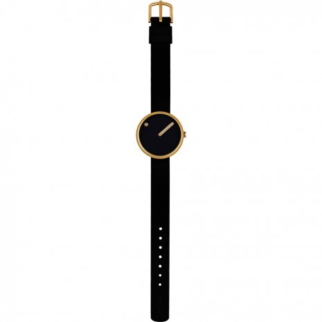 Black & Gold Design Watch Fall Winter Collection Picto