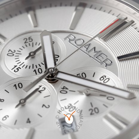 Swiss made stainless steel chronograph  Roamer