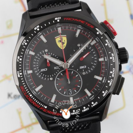 Limited to 500 Edition Chronograph Spring Summer Collection Scuderia Ferrari