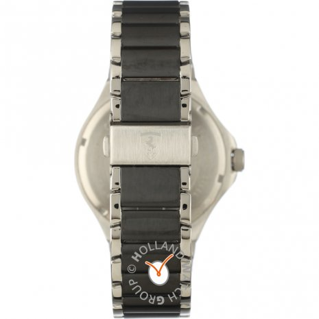 Silver day-date watch Spring Summer Collection Scuderia Ferrari