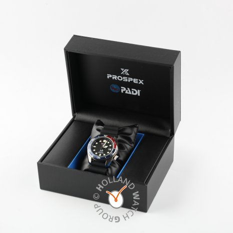 Seiko watch black