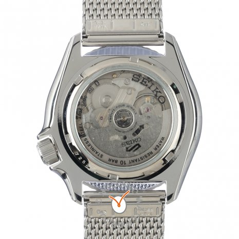 Steel Automatic Watch with Day-Date Spring Summer Collection Seiko
