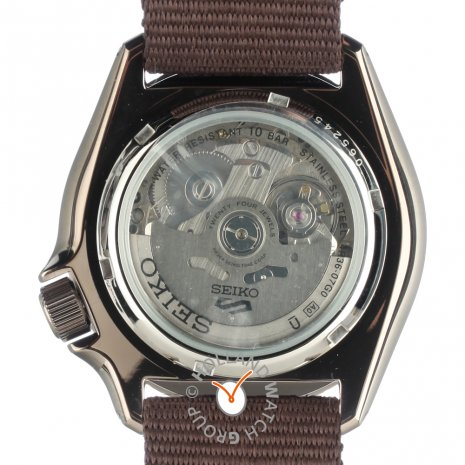 Brown Automatic Watch with Day-Date Fall Winter Collection Seiko
