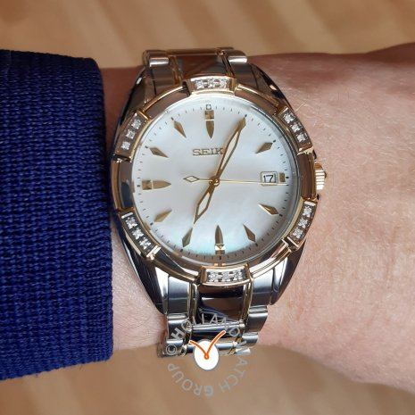 Two-Tone Ladies Watch with 18 Diamonds Fall Winter Collection Seiko