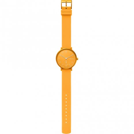Skagen watch yellow