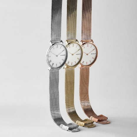 Silver Ladies Quartz Watch Spring Summer Collection Skagen