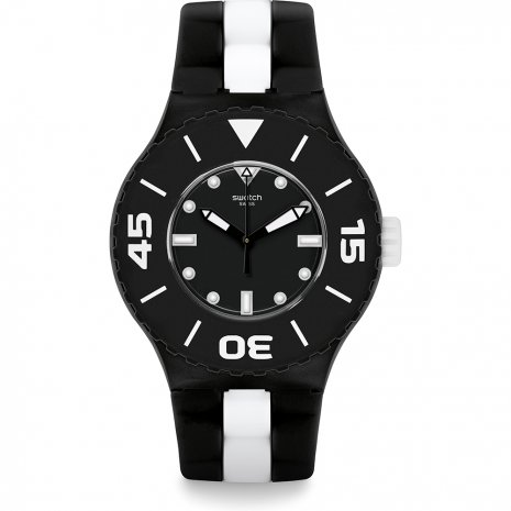 Swatch B&W Deep watch