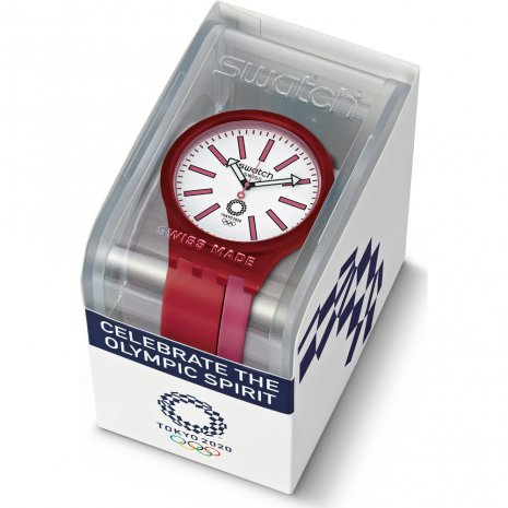 Tokyo 2020 Olympics quartz watch Spring Summer Collection Swatch