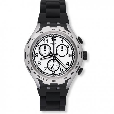 Swatch Black Attack watch