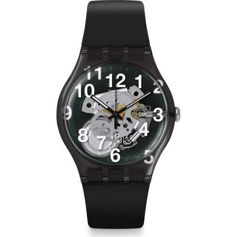 Swatch Black Board horloge