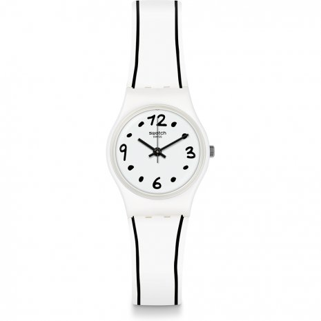 Swatch Black Border watch