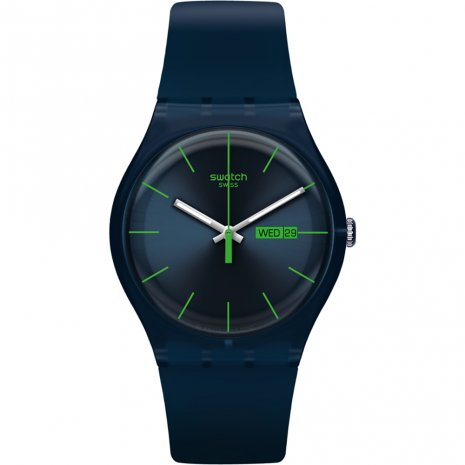 Swatch Blue Rebel watch